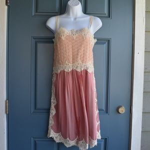 Lt Peach/Dusty Rose Sundress by Sundance Sz.4